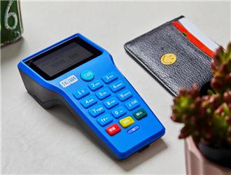 pos机刷卡芯片卡怎么放?